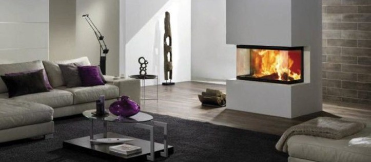 Chimeneas de dise o vanguardista y minimalista 934 761 - Chimeneas minimalistas ...